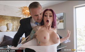 Brazzers - Real Wife Stories - Disobeying The Mistress scene starring Monique Alexander & Keiran Lee