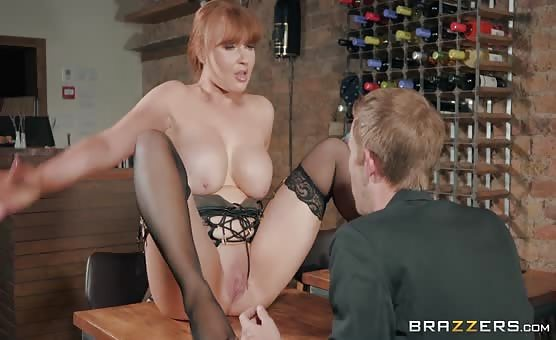 Brazzers - Big Tits At Work - Finally, Some Good Fucking Food scene starring Ashleigh Devere & Danny D