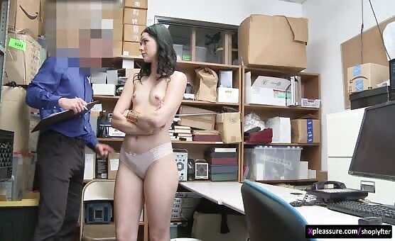 Shoplyfter - Case No. 6485994 scene starring Violet Rain & Mike Mancini